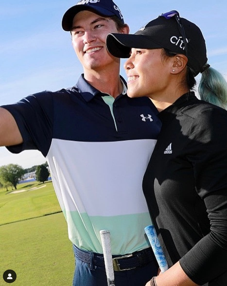 Danielle Kang and Maverick McNealy