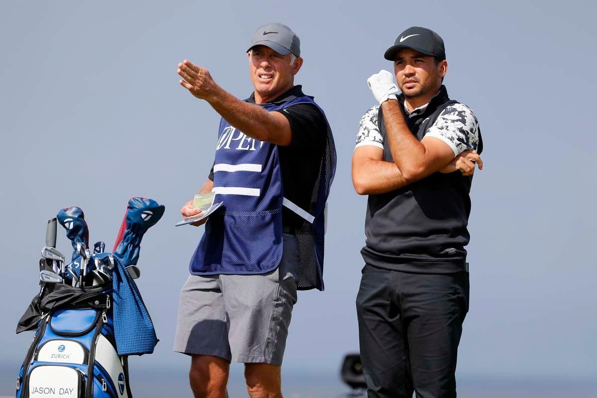 Jason Day and Steve Williams