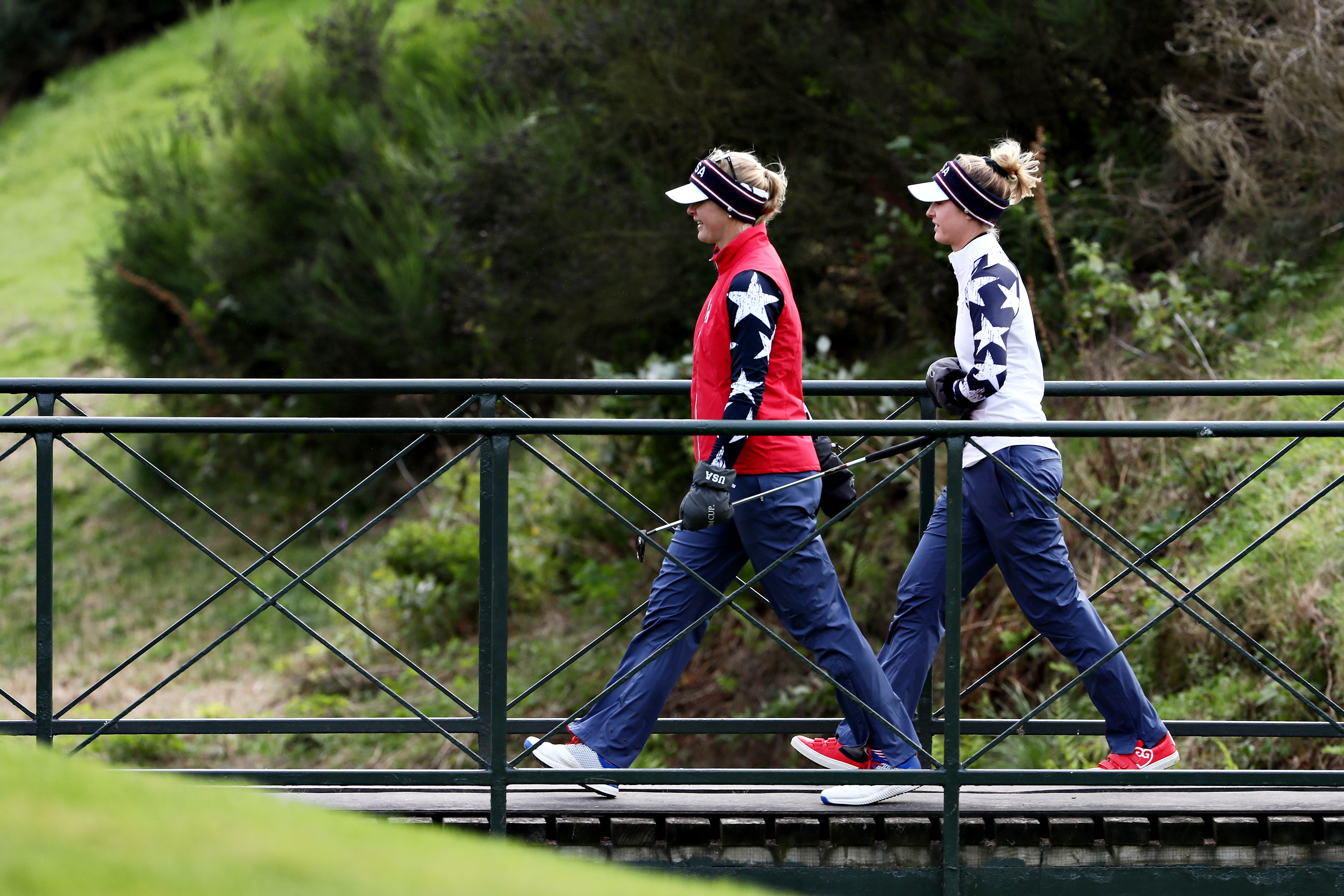 Jessica and Nelly Korda