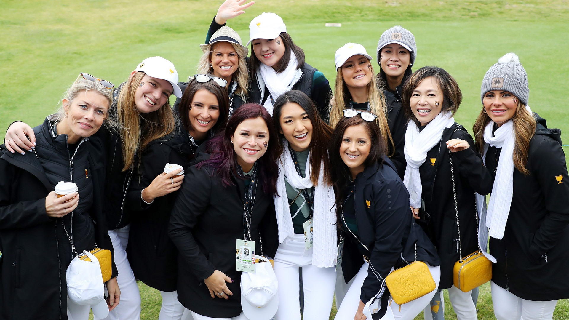 Presidents Cup International team wives and girlfriends