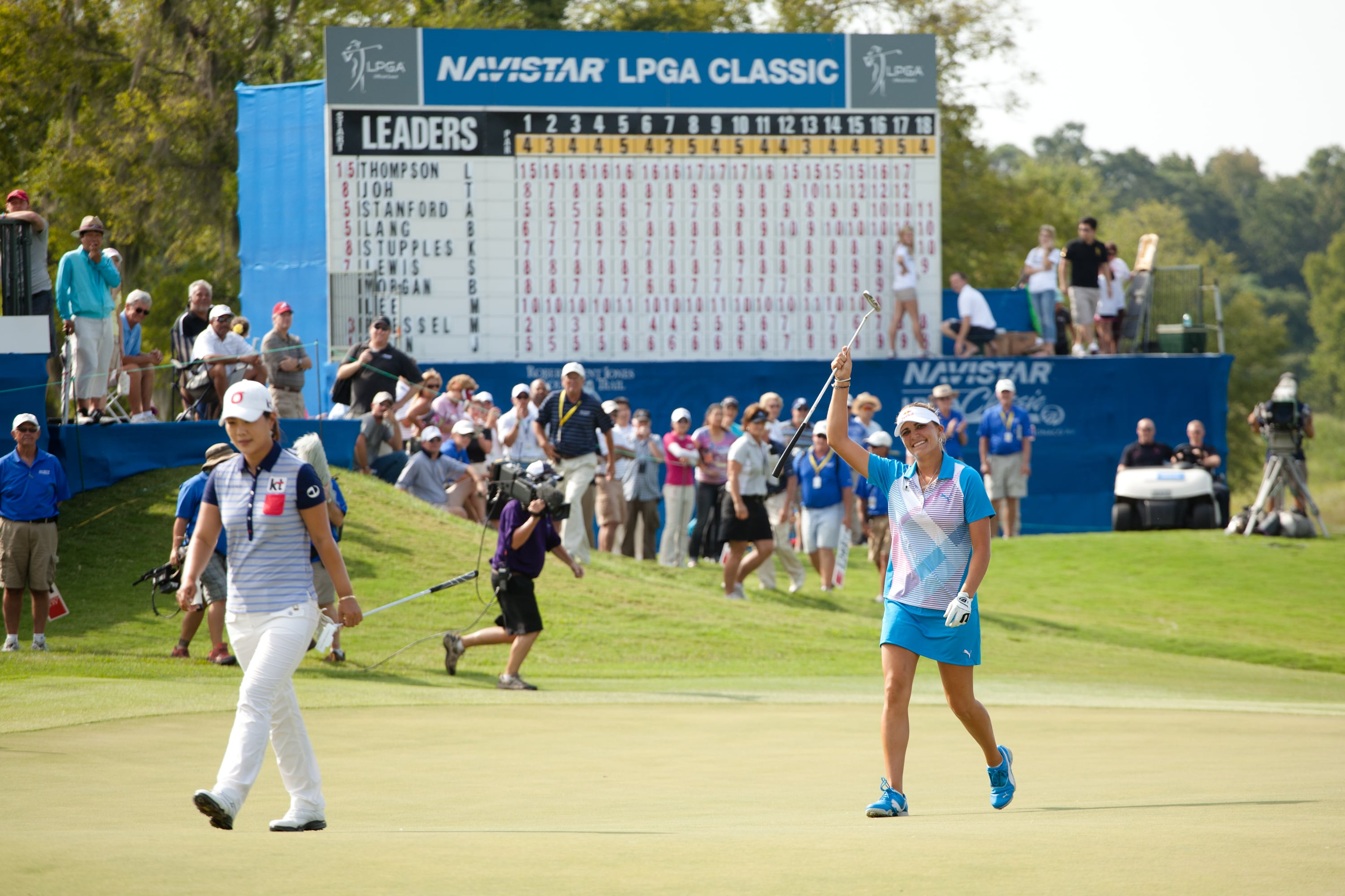 Lexi Thompson wins young, too