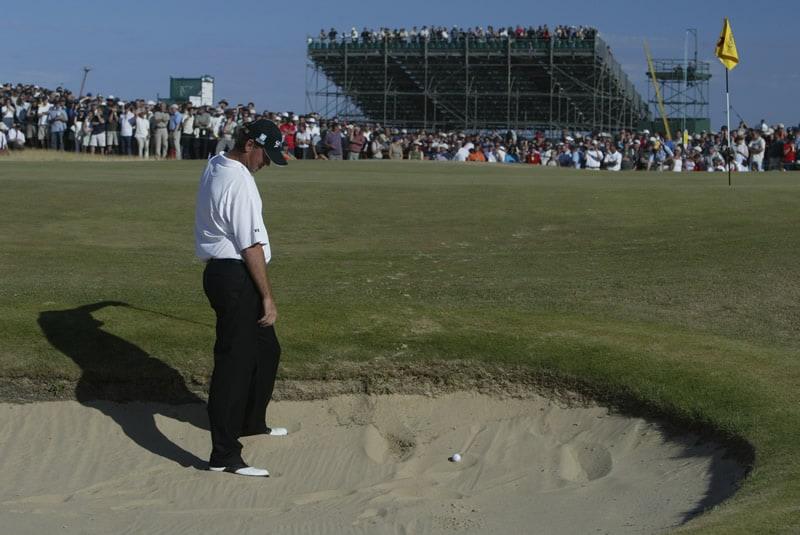 Thomas Bjorn, 2003 British Open