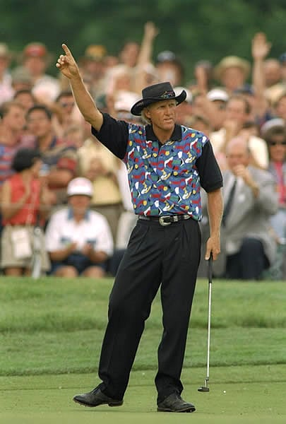 10. Greg Norman, 1995