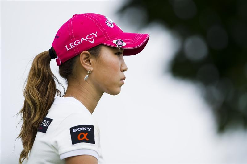 CHON BURI, THAILAND - FEBRUARY 21:  Momoko Ueda of Japan walks on the 12th hole during the final round of the Honda PTT LPGA Thailand at Siam Country Club on February 21, 2010 in Chon Buri, Thailand.  (Photo by Victor Fraile/Getty Images)