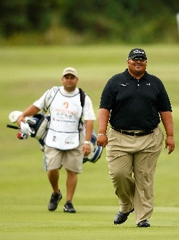 RIO GRANDE, PUERTO RICO - MARCH 20:  Wilfredo Morales of Puerto Rico walks up the 7th hole during the first round of the Puerto Rico Open presented by Banco Popular held on March 20, 2008 at Coco Beach Golf & Country Club in Rio Grande, Puerto Rico.  (Photo by Mike Ehrmann/Getty Images)