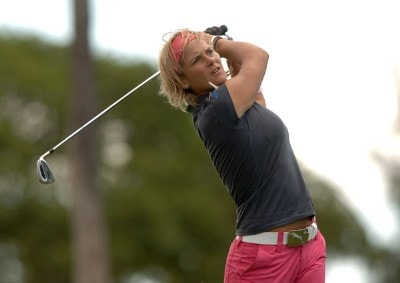 Nicole Perrot in action during first round of the inaugural 2006 Fields Open in Hawaii at Ko Olina Golf Club in Kapolei, Hawaii February 22, 2006.Photo by Steve Grayson/WireImage.com