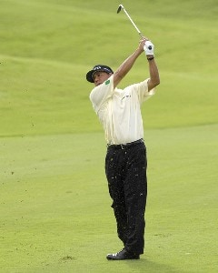 Esteban Toledo of Mexico during the first round of the WGC-Barbados World Cup held on the Country Club Course at the Sandy Lane Resort in St. James, Barbados, on December 7, 2006. PGA TOUR - WGC - 2006 Barbados World Cup - First RoundPhoto by Steve Levin/WireImage.com