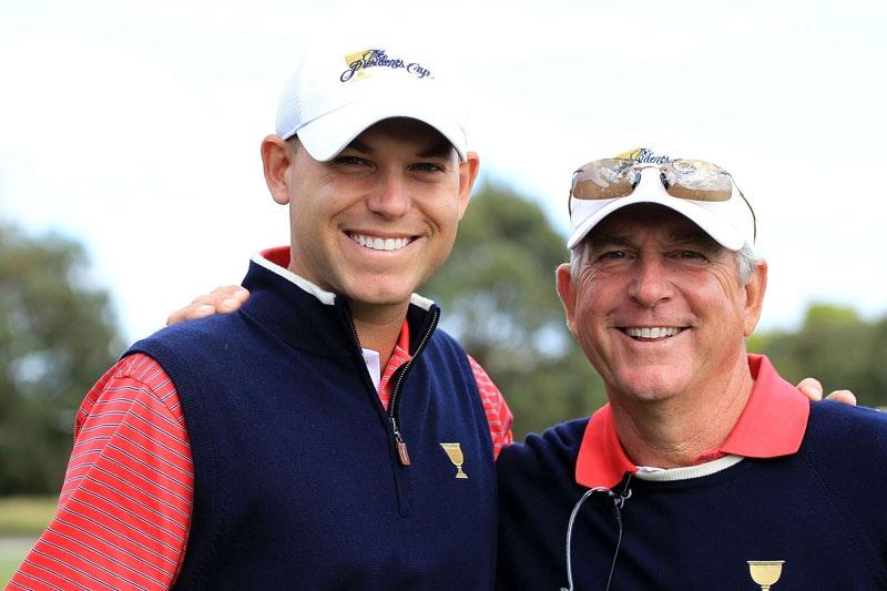 Bill and Jay Haas