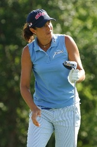 Laura Diaz during the third round of the LPGA, Inaugural, Ginn Open on Saturday, April 29, 2006 at the Reunion Resort and Club in Reunion, Florida.Photo by Marc Feldman/WireImage.com
