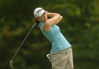 Stacy Prammanasudh during the second round of the 2006 Wendy's Championship for Children held at Tartan Fields Golf Club in Dublin, Ohio on August 25, 2006.Photo by Steve Grayson/WireImage.com