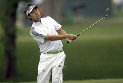 Kevin Na in action during the second round of the Crowne Plaza Invitational at Colonial at the Colonial Country Club in Fort Worth, Texas on May 25, 2007. PGA TOUR - 2007 Crowne Plaza Invitational at Colonial - Second RoundPhoto by Steve Grayson/WireImage.com