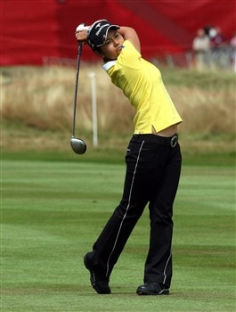 lSUNNINGDALE, UNITED KINGDOM - AUGUST 02:  Ai Miyazato during the third round of the 2008  Ricoh Women's British Open Championship held on the Old Course at Sunningdale Golf Club, on August 2, 2008 in Sunningdale, England.  (Photo by David Cannon/Getty Images)