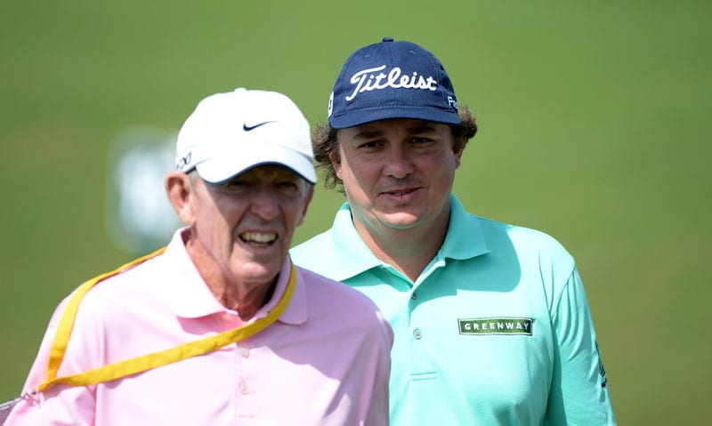 Chuck Cook and Jason Dufner