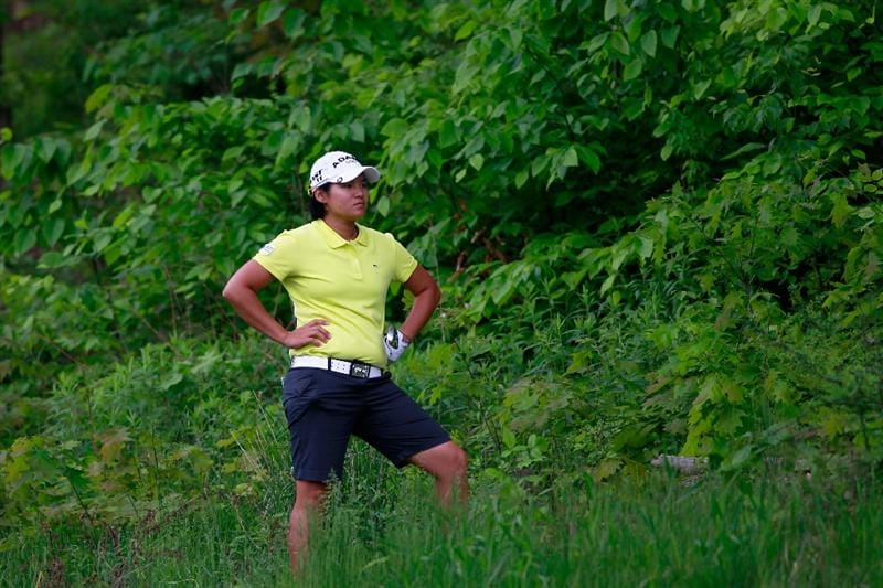 GLADSTONE, NJ - MAY 19:  Yani Tseng of Taiwan on the eleventh hole during round one of the Sybase Match Play Championship at Hamilton Farm Golf Club on May 19, 2011 in Gladstone, New Jersey.  (Photo by Chris Trotman/Getty Images)