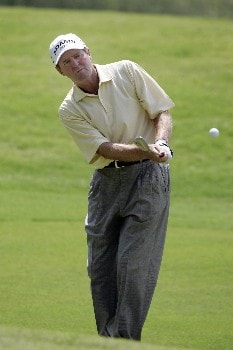 Des Smyth at the 7th green during the second round of the Bruno's Memorial Classic, May 21,2005, held at Greystone GC, Birmingham, Al.  D.A. Weibring shot a second round 12 under par.Photo by Stan Badz/PGA TOUR/WireImage.com