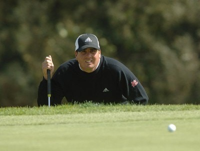 Pat Perez in action during the second round of the 2006 Nissan Open, Presented by Countrywide at Riviera Country Club in Pacific Palisades, California February 17, 2006.Photo by Steve Grayson/WireImage.com