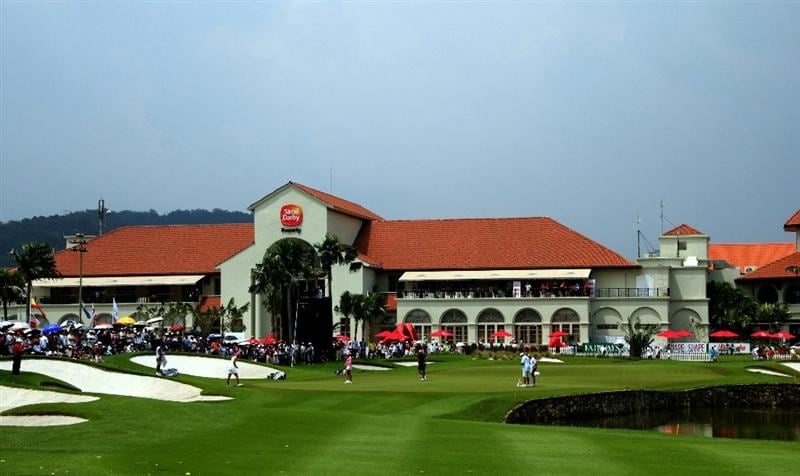 KUALA LUMPUR, MALAYSIA - OCTOBER 23:  General view of the Club House during Round Two of the Sime Darby LPGA at the Kuala Lumpur Golf and Country Club on October 23, 2010 in Kuala Lumpur, Malaysia. (Photo by Stanley Chou/Getty Images)