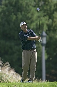 Brad Bryant during the third and final round of the Constellation Energy Classic at Hayfields Country Club in Hunt Valley, Maryland on September 17, 2006.Photo by Michael Cohen/WireImage.com