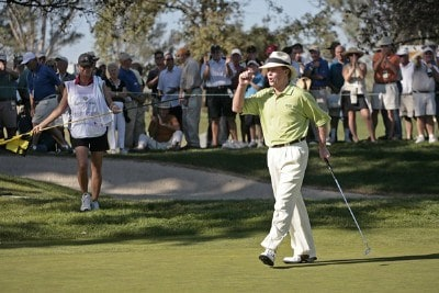 Tom Kite during the second round of the Charles Schwab Cup Championship held at Sonoma Golf Club in Sonoma, California, on October 27, 2006. Photo by: Chris Condon/PGA TOURPhoto by: Chris Condon/PGA TOUR