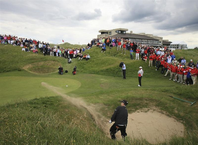 BALLYBUNION, IRELAND - JUNE 07:  Bob Boyd of the US in action during the final round of the Irish Seniors Open played at the Old Course, Ballybunion Golf Club on June 7, 2009 in Ballybunion, Ireland  (Photo by Phil Inglis/Getty Images)