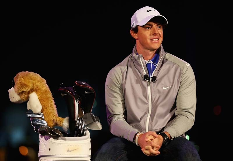 Rory McIlroy unveiled as Nike golfer