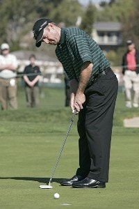 Rod Pampling during the first round of the 2006 Accenture Match Play Championship at the La Costa Resort & Spa in Carlsbad, California on February 22, 2006.Photo by Stan Badz/PGA TOUR/WireImage.com