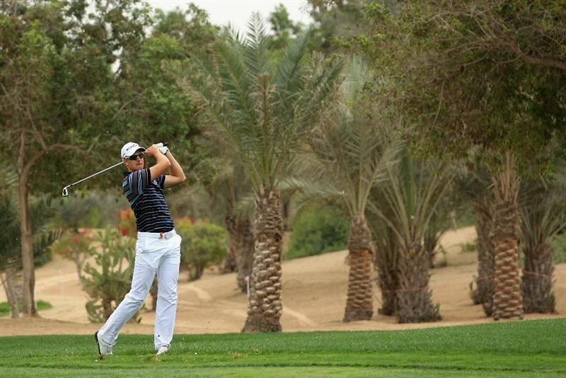 ABU DHABI, UNITED ARAB EMIRATES - JANUARY 20:  Henrik Stenson of Sweden in action during the first round of The Abu Dhabi HSBC Golf Championship at Abu Dhabi Golf Club on January 20, 2011 in Abu Dhabi, United Arab Emirates.  (Photo by Andrew Redington/Getty Images)