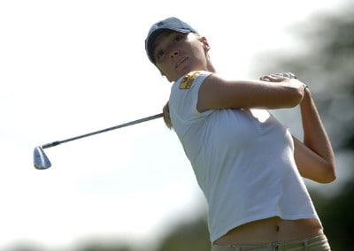 Catherine Cartwright in action in the final round of the inaugural 2006 Fields Open in Hawaii at Ko Olina Golf Club in Kapolei, Hawaii February 25, 2006.Photo by Steve Grayson/WireImage.com