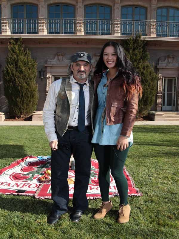 Feherty, David Feherty and Michelle Wie