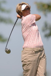 Beth Bader in action during the second round of the 2006 Franklin American Mortgage Championship benefiting the Monroe Carell Jr. Children's Hospital at Vanderbilt at Vanderbilt Legends Club in Franklin, Tennessee on May 5, 2006.Photo by Steve Grayson/WireImage.com