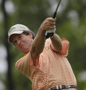 Danny Edwards during the first round of the Regions Charity Classic held at Robert Trent Jones Golf Trail at Ross Bridge in Birmingham, AL, on May 5, 2006.Photo by Steve Levin/WireImage.com