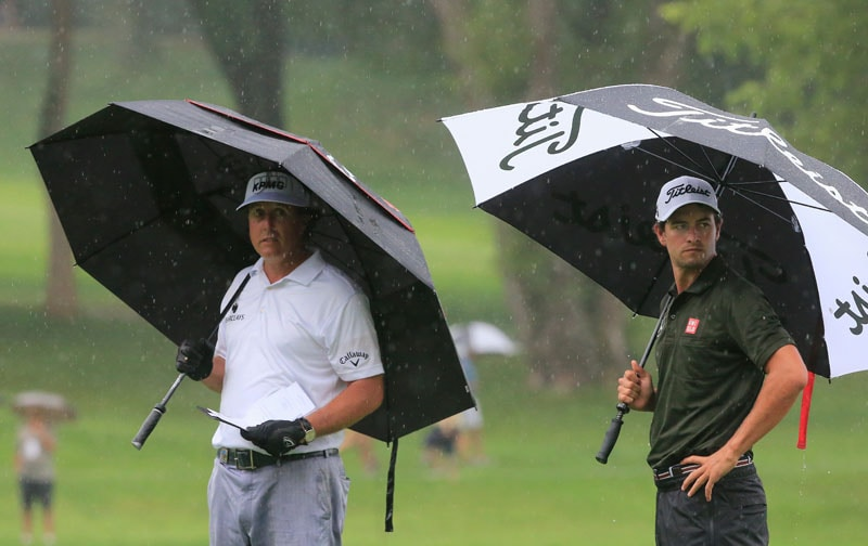 Phil Mickelson, Adam Scott