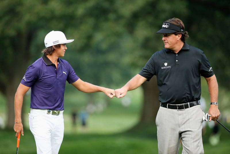 Rickie Fowler, Phil Mickelson