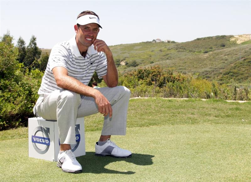 CASARES, SPAIN - MAY 21:  Charl Schwartzel of South Africa during his quarter final match of the Volvo World Match Play Championships at Finca Cortesin on May 20, 2011 in Casares, Spain.  (Photo by Ross Kinnaird/Getty Images)