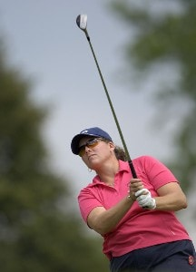 Moira Dunn during the first round of  the Canadian Women's Open at the London Hunt and Country Club in London, Ontario on August 10, 2006.Photo by Steve Levin/WireImage.com