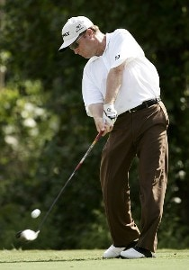 Jeff Sluman during the second round of the 2006 FUNAI Classic at WALT DISNEY WORLD Resort on the Magnolia Course and the Palm Course in Lake Buena Vista, Florida, on October 20, 2006. PGA TOUR - 2006 FUNAI Classic at the WALT DISNEY WORLD Resort - Second RoundPhoto by Sam Greenwood/WireImage.com
