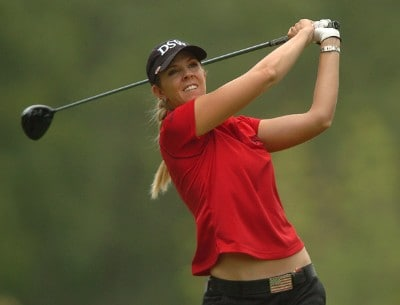 Jill McGill in action during the 2006 John Q. Hammonds Hotel Classic at the Cedar Ridge Country Club in Broken Arrow, Oklahoma on September 10, 2006.Photo by Steve Grayson/WireImage.com
