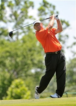 MEMPHIS, TN - JUNE 07:  Gavin Coles of Australia tees off the 9th hole during the third round of the Stanford St. Jude Championship at the TPC Southwind on June 7, 2008 in Memphis, Tennessee.  (Photo by Marc Feldman/Getty Images)