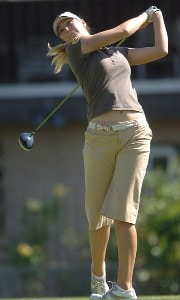 Catherine Cartwright in action during the first round of the LPGA's 2006 Takefuji Classic at the Las Vegas Country Club in Las Vegas, Nevada April 13, 2006Photo by Steve Grayson/WireImage.com