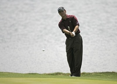 Scott McCarron during the second round for THE PLAYERS Championship held at the TPC Stadium Course in Ponte Vedra Beach, Florida on March 24, 2006.Photo by Sam Greenwood/WireImage.com