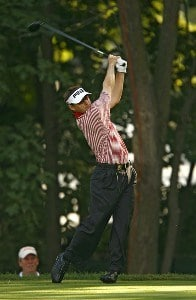 Heath Slocum during the first round of the 88th PGA Championship at Medinah Country Club in Medinah, Illinois, on August 17, 2006.Photo by Mike Ehrmann/WireImage.com