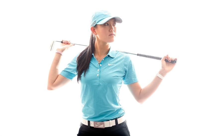 CITY OF INDUSTRY, CA - MARCH 22:  Michelle Wie poses for a portrait on March 22, 2011 at the Industry Hills Golf Club in the City of Industry, California.  (Photo by Jonathan Ferrey/Getty Images)
