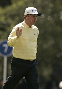 Jeff Sluman during the second round for THE PLAYERS Championship held at the TPC Stadium Course in Ponte Vedra Beach, Florida on March 24, 2006.Photo by Michael Cohen/WireImage.com