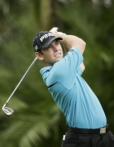 Louis Oosthuizen during the first round of the WGC-CA Championship held on the Blue Course at Doral Golf Resort and Spa in Doral, Florida, on March 22, 2007. PGA TOUR - WGC - 2007 CA Championship - First RoundPhoto by Sam Greenwood/WireImage.com