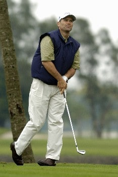 Tom Byrum competes in  second-round competition March 4, 2005  at the  2005 Ford Championship at Doral in Miami.