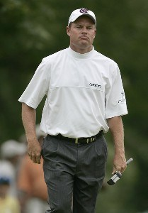 Joe Durant during the first round of the Buick Open at Warwick Hills Golf and Country Club in Grand Blanc, Michigan on August 3, 2006.Photo by Michael Cohen/WireImage.com