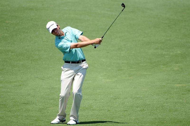 AUGUSTA, GA - APRIL 09:  Sean O'Hair plays a shot on the second hole during the first round of the 2009 Masters Tournament at Augusta National Golf Club on April 9, 2009 in Augusta, Georgia.  (Photo by Harry How/Getty Images)