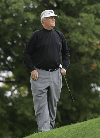 TIMONIUM, MD - OCTOBER 02:  Mark Wiebe during the second round of the Constellation Energy Senior Players Championship at Baltimore Country Club/Five Farms (East Course) held on October 2, 2009 in Timonium, Maryland  (Photo by Michael Cohen/Getty Images)