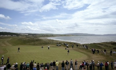 Loren Roberts (US) on the eighth green during the final round of the 2006 Senior British Open at the Westin Turnberry resort in Ayrshire, Scotland on July 30, 2006.Photo by Matthew Harris/WireImage.com