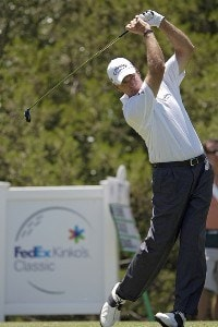 Bruce Fleisher during the third and final round of the FedEx Kinko's Classic held at The Hills Country Club in Austin, Texas, on April 30, 2006. Photo by Steve Levin/WireImage.com